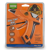 Gorilla Glue Dual Temp Mini Hot Glue Gun