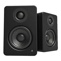 Kanto Living YU2 Powered Desktop Speakers w/ Built-in USB DAC - Matte Black