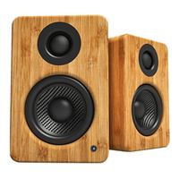 Kanto Living YU2 Powered Desktop Speakers w/ Built-in USB DAC  - Bamboo