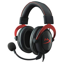 HyperX Cloud II Pro Gaming Headset - Red (Refurbished)