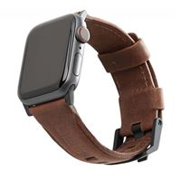 UAG Apple Watch 44/42mm Leather Strap - Brown
