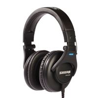 Shure SRH440 Professional Studio Headphones - Black
