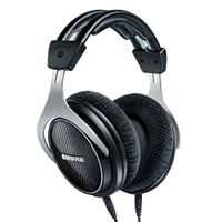Shure SRH1540 Premium Closed-Back Headphones - Black