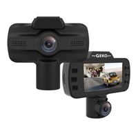 Geko OwlScout Full HD 1080P Wifi & GPS Dash Cam w/ 16GB Memory Card