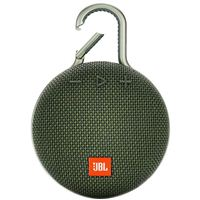 JBL Clip 3 Bluetooth Speaker - Green