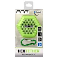 Audiovox Electronics Hex Tether Bluetooth Speaker - Green