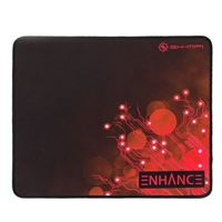 Accessory Power ENHANCE Large Gaming Mouse Pad - Voltaic Series (Red)