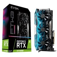 EVGA GeForce RTX 2070 SUPER FTW3 ULTRA GAMING Overclocked Triple-Fan 8GB GDDR6 PCIe 3.0 Video Card