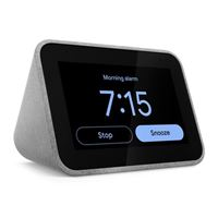 Lenovo Smart Clock w/ Google Assistant - Gray