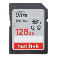 SanDisk 128GB Ultra Plus SDHC Speed Class 10/ UHS-1/ V10 Flash...