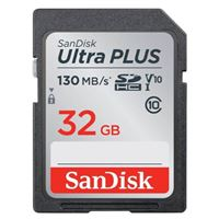 SanDisk 32GB Ultra Plus SDHC Speed Class 10/ UHS-1/ V10 Flash...