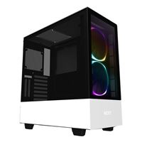 NZXT H510 Elite Dual-Tempered Glass RGB ATX Mid-Tower Computer Case - White