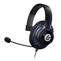 LucidSound LS1P Premium Chat Gaming Headset - Black/Blue