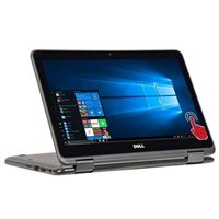 "Dell Inspiron 3185 11.6"" 2-in-1 Laptop Computer Factory Refurbished - Gray"