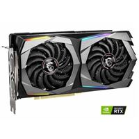 MSI GeForce RTX 2060 Super Gaming X Overclocked Dual-Fan 8GB GDDR6 PCIe 3.0 Graphics Card