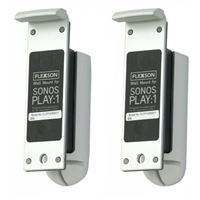 Flexson Wall Mount for Sonos Play:1 - (Pair, White)