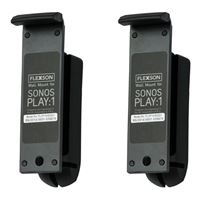 Flexson Wall Mount for Sonos Play:1 - (Pair, Black)
