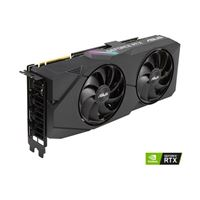 ASUS Dual GeForce RTX 2080 Super Overclocked Dual-Fan 8GB GDDR6 PCIe Video Card