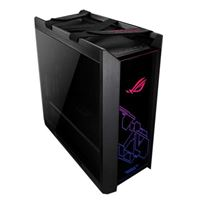 ASUS ROG Strix Helios GX601 RGB Tempered Glass eATX Mid-Tower Computer Case - Black