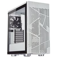 Corsair 275R Airflow Tempered Glass ATX Mid-Tower Computer Case - White