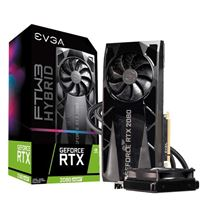 EVGA FTW3 Hybrid GeForce RTX 2080 Super Overclocked Liquid Cooled 8GB GDDR6 PCIe Video Card