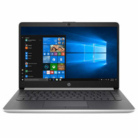 "HP 14-cf1015cl 14"" Laptop Computer Factory Refurbished - Silver"