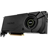 MSI GeForce RTX 2080 Super Aero Single-Fan 8GB GDDR6 PCIe 3.0 Graphics Card