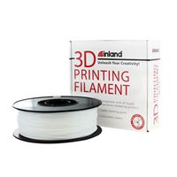 Polymaker 1.75mm White TPU 3D Printer Filament - 1kg Spool (2.2 lbs)