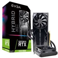 EVGA GeForce RTX 2080 XC Hybrid Gaming Overclocked Hybrid Cooled 8GB GDDR6 PCIe 3.0 Graphics Card