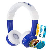 Onanoff BuddyPhones In-Flight Headphones - Blue