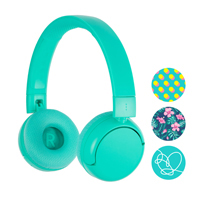 Onanoff BuddyPhones POP Wireless Headphones - Turquoise