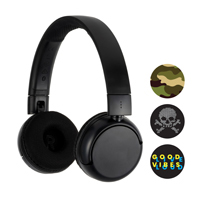 BuddyPhones POP Wireless Headphones - Black