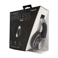 Morpheus 360 Bluetooth Stereo Headphones - Black