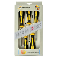 Bondhus 5 Piece Screwdriver Set