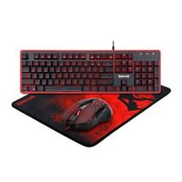 Redragon S107 Gaming Keyboard and Mouse Combo w / Mousepad