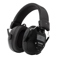 ION Audio Audio Soundproof Earmuffs Block Value 27dB Noise ReductBluetooth Enabled Phone the Am/Fm Radio with Tough Sounds II
