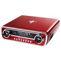 ION Audio Mustang LP 4-in-1 Classic Car-Styled Music Center