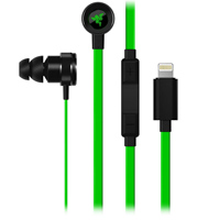 Razer Hammerhead Earbuds w/ Lighting Connector - Green/Black