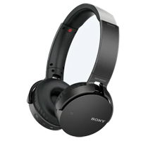 Sony Bluetooth Headphones (Refurbished) - Black