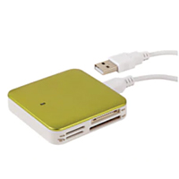 Ativa Multi-Card Reader - Green