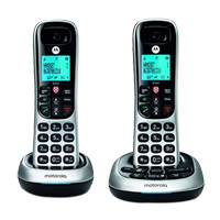 Motorola CD4012 Cordless Telephone - 2 Pack