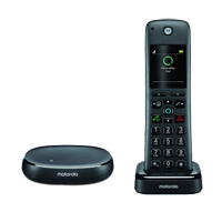 Motorola AXH01 Wireless Home Telephone w/ Alexa built-in