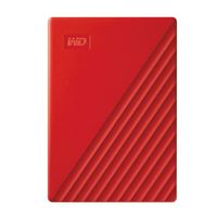 "WD My Passport 2TB USB 3.2 (Gen 1 Type-A) 2.5"" Portable External Hard Drive - Red"