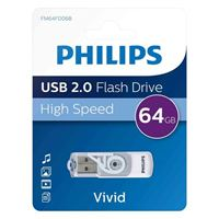 Emtec International Phillips 64GB Vivid Edition USB 2.0 Flash Drive