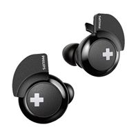 Philips BASS True Wireless Bluetooth Headphones - Black