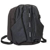 "Inland Laptop Backpack w/ USB port Fits Screens up to 15.6"" - Black/ Dark Blue"