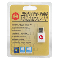 HiRO AC1200 Wireless Dual Band USB 2.0 Network Adapter