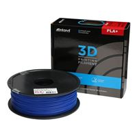 Inland 1.75mm Blue PLA+ 3D Printer Filament - 1kg Spool (2.2 lbs)