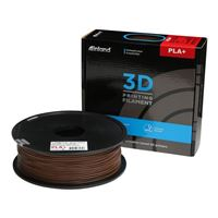 Inland 1.75mm Dark Brown PLA+ 3D Printer Filament - 1kg Spool (2.2 lbs)