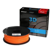 Inland 1.75mm Orange PLA+ 3D Printer Filament - 1kg Spool (2.2 lbs)